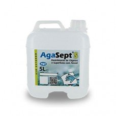 Desinfectante Alcoolico Agasept Superficies/utensili 5lts